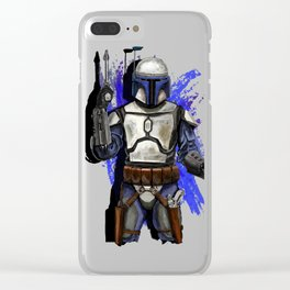 Jango unchained Clear iPhone Case