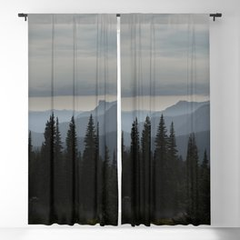 Forest Alpine Blackout Curtain