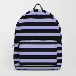 Goth Stripes Urban Pastel Witch Aesthetic Backpack