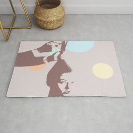 The final cut ~ Signed Rug