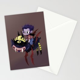 Vampire boy Stationery Cards