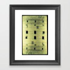 Landscapes c4 (35mm Double Exposure) Framed Art Print