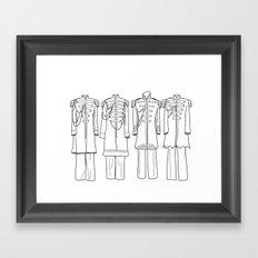 Sgt. Peppers BW Framed Art Print