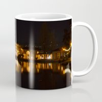 oakland Mugs featuring Lake Merritt, Oakland, CA by CSKong