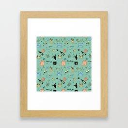 90% Cats Framed Art Print