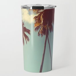 Vintage Palms Travel Mug