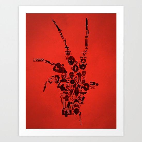 Terror Art Print
