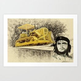 Dozer of the Revolution Art Print