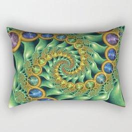 Triple Spiral Rectangular Pillow