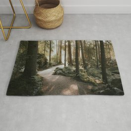 Lost in the Forest - Landscape Photography Rug