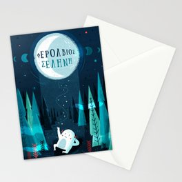 :::Happy bringer moon::: Stationery Cards
