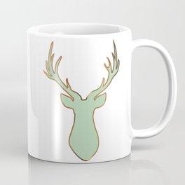 Stag Design Mint Coffee Mug