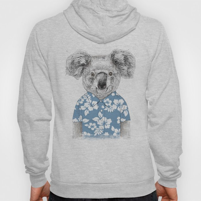 Summer koala (color version) Hoody