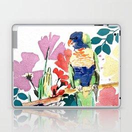 Blooming Lorikeets Laptop & iPad Skin