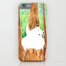 Polar Bear On Holiday iPhone 6s Slim Case
