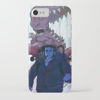 xmen iPhone & iPod Cases featuring Xmen vs The Thing by ashurcollective