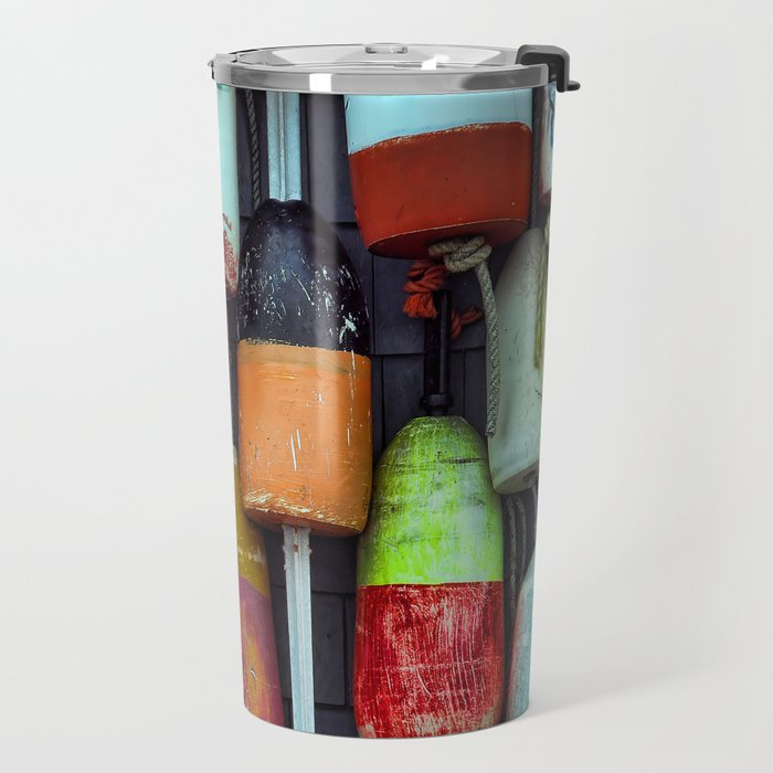 Float on a wall, Cape Cod Travel Mug