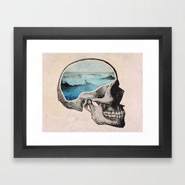 Brain Waves Framed Art Print