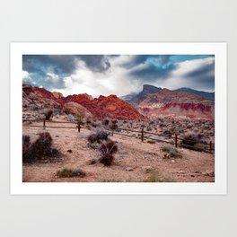 Red Rock Canyon Art Print