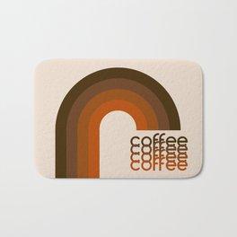 Cocoa Coffee Rainbow Bath Mat
