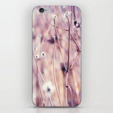 Flower field iPhone & iPod Skin