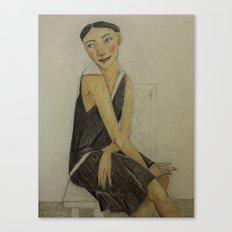LADY KATE Canvas Print