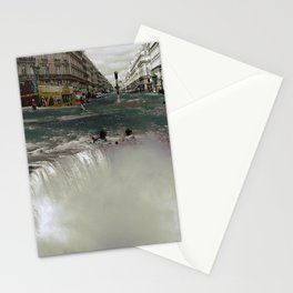 The Street Fall Stationery Cards