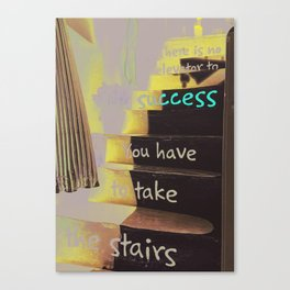 STAIRS TO SUCCESS Canvas Print