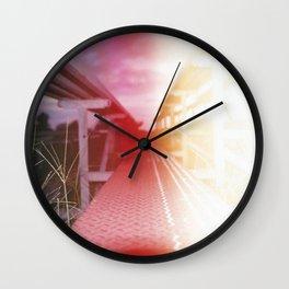 Bleached Bleachers Wall Clock