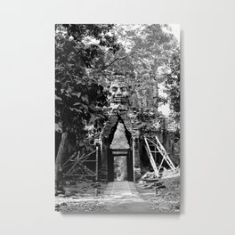 Deserted in the jungle Metal Print