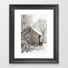 The Wooden Shed Framed Art Print