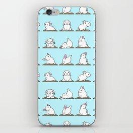 Bunnies Yoga iPhone Skin