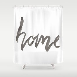 Home Shower Curtain