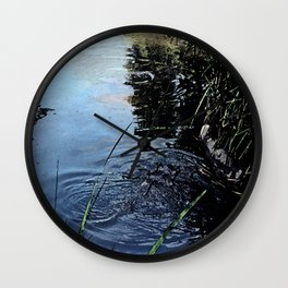 Puddle Jumpers Wall Clock