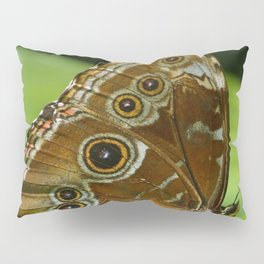 Beautiful Butterfly Wings of Meadow Brown Pillow Sham