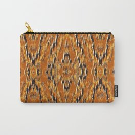 big diamond ikat tapestry Carry-All Pouch