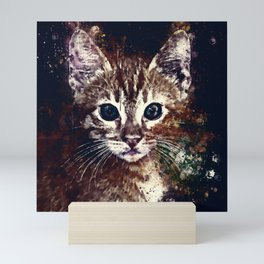 cat years wsfn Mini Art Print