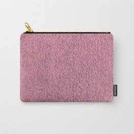 Pink Shag pile carpet Carry-All Pouch