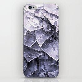 Cracked Ice Tiles In Lake Shore #decor #buyart #society6 iPhone Skin