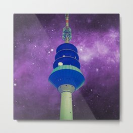 Out Of The Ordinary - Galactic Purple Metal Print