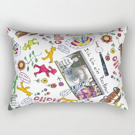Ich bin Berliner Rectangular Pillow
