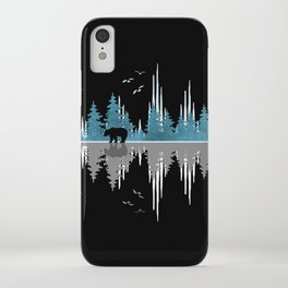 The Sounds Of Nature - Music Sound Wave iPhone Case