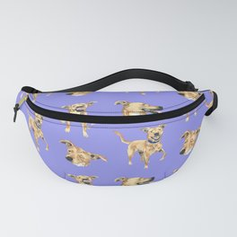 Purple Dog Fanny Pack