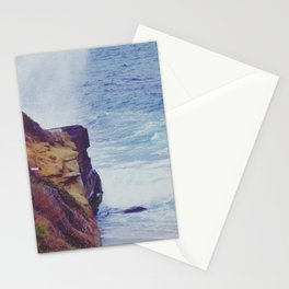 Crash on the Cliffs Stationery Cards