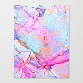 Graffiti Candy Marble Pattern Canvas Print