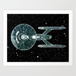Enterprise NCC-1701A Art Print