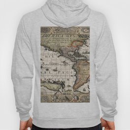 Map Of America 1614 Hoody