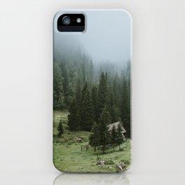 Planina pri jezeru iPhone Case