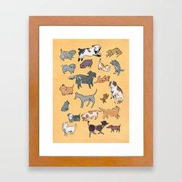 The Dog Park Framed Art Print