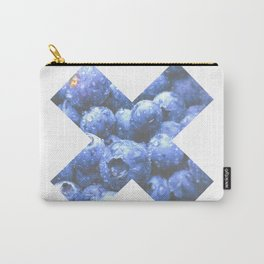 X Mora Azul Carry-All Pouch